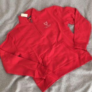 {SOLD} NEW Half-Zip Sweatshirt